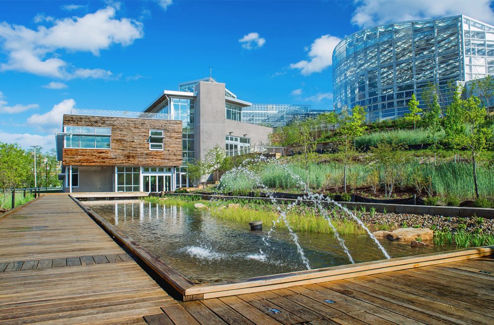 Thumbnail Center for Sustainable Landscapes / 2