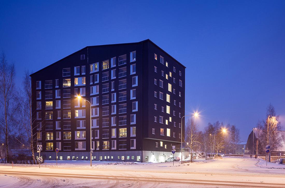 Thumbnail Puukuokka Housing Block / 1