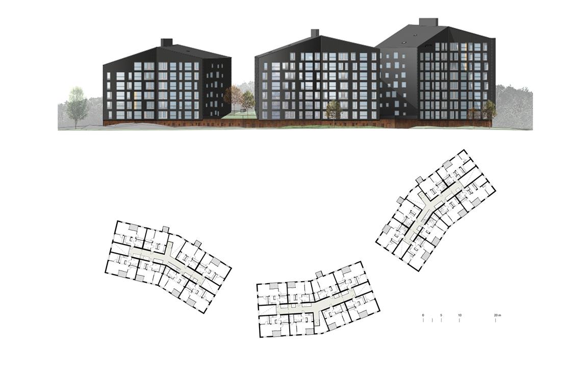 Thumbnail Puukuokka Housing Block / 11