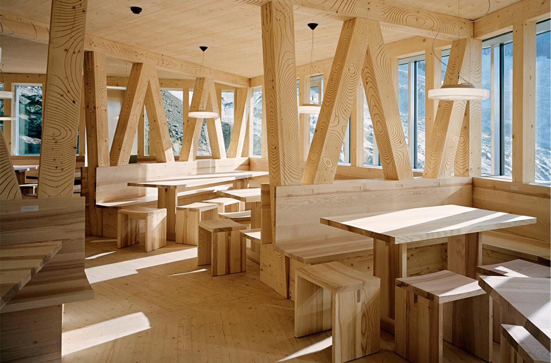 Thumbnail New Monte Rosa Hut / 6