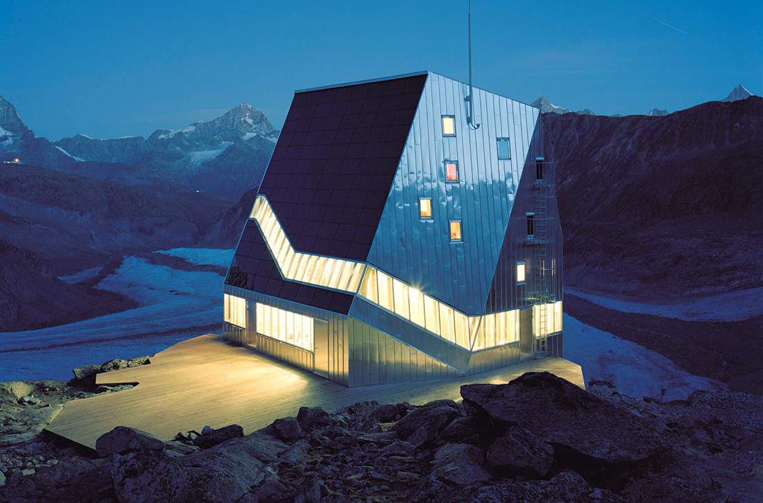 Thumbnail New Monte Rosa Hut / 0
