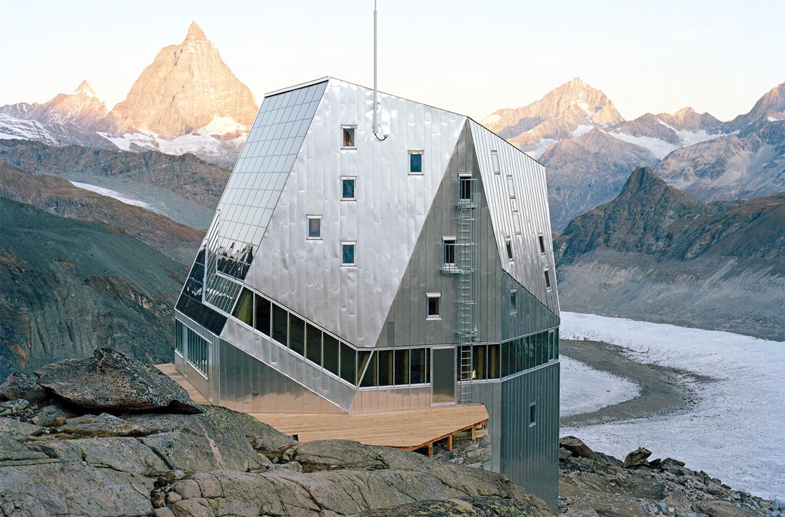 Thumbnail New Monte Rosa Hut / 5