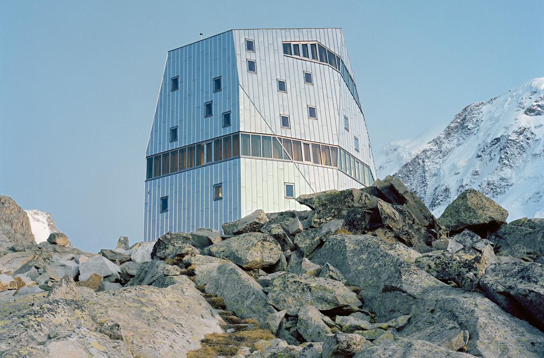 Thumbnail New Monte Rosa Hut / 11