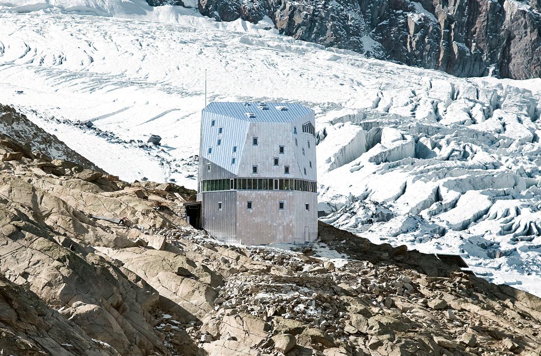 Thumbnail New Monte Rosa Hut / 4