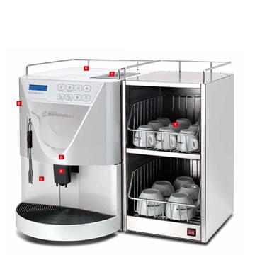 Microbar II Espresso Machine - Nuova Simonelli