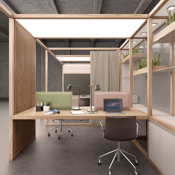 6x6 Systems Furniture - OFFICE