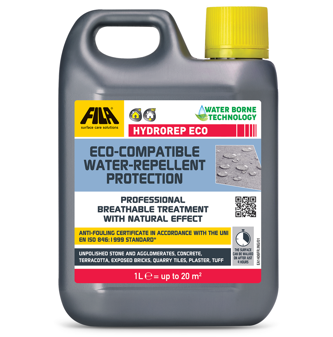 HYDROREP ECO - water repellent protection for natural stone and cement