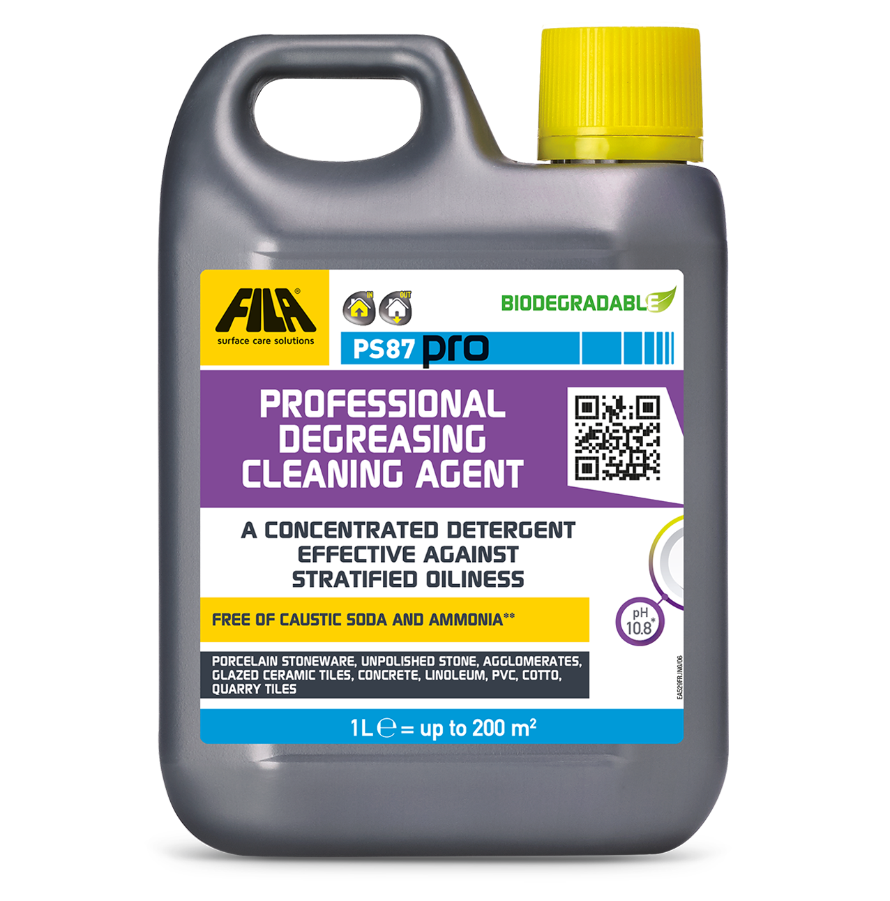 Thumbnail PS87 PRO - Professional degreasing cleaning agent
