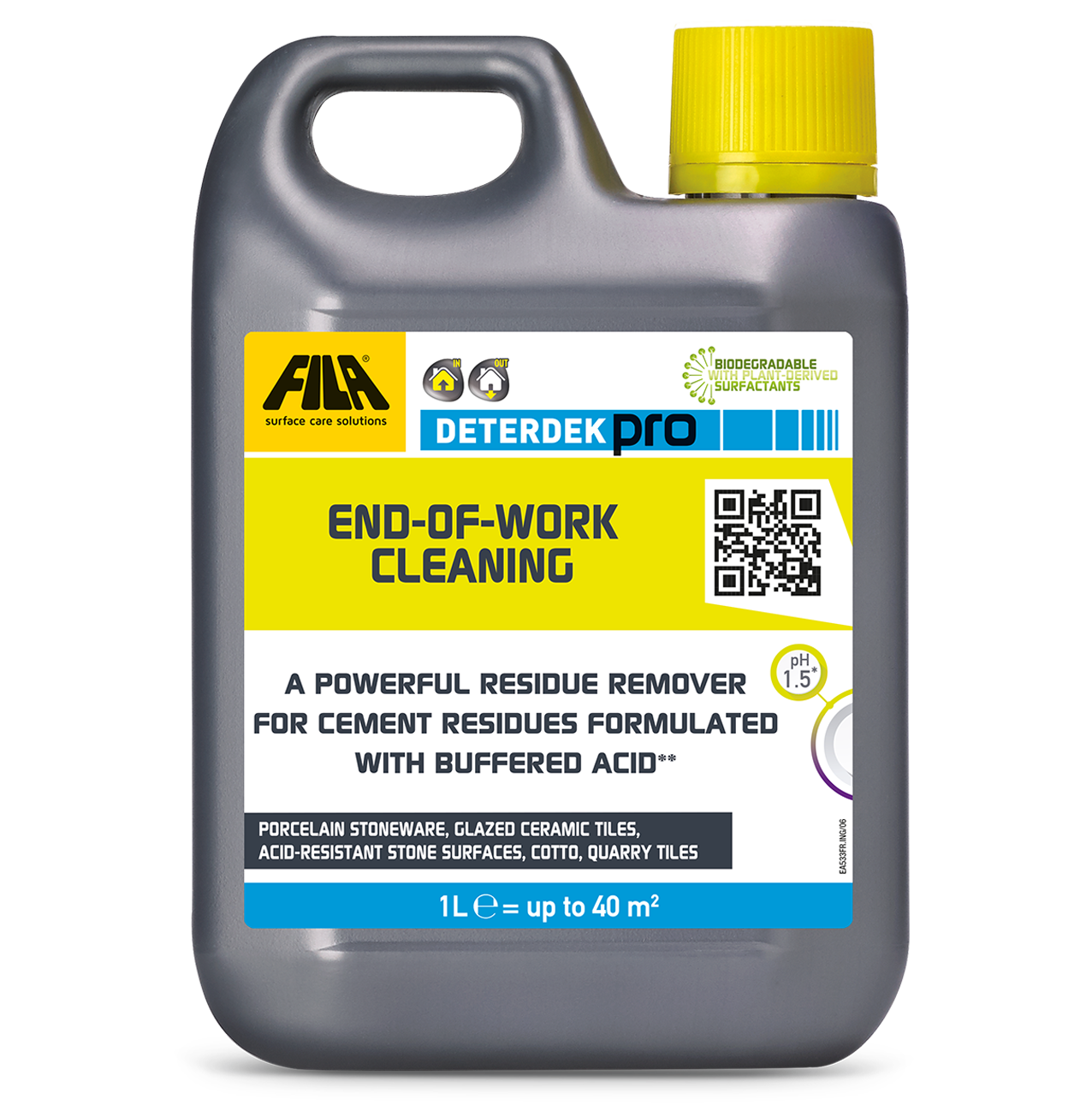 DETERDEK PRO - End-of-work cleaning