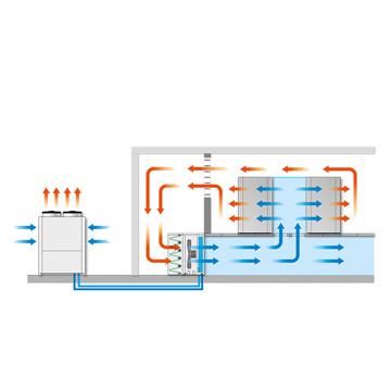 Thumbnail HBCV - CRAC units for underfloor installation- HIREF / 0
